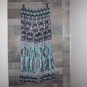 One World Palazzo Pants Women's size PM